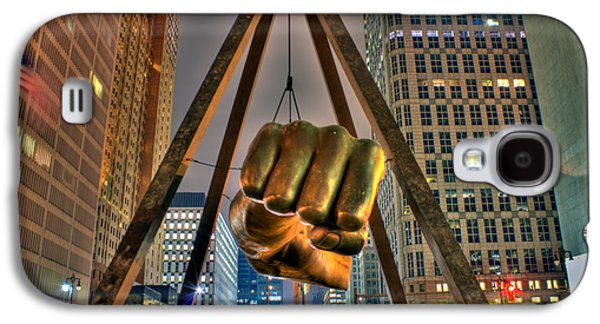 Detroit Digital Galaxy S4 Cases - Joe Louis Fist Detroit MI Galaxy S4 Case by B And G Art