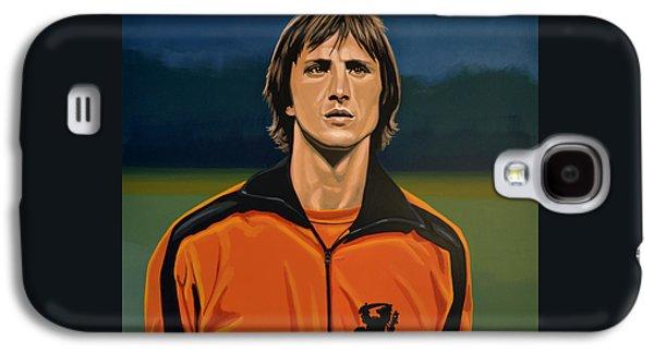 Johan Cruyff Oranje Galaxy S4 Case by Paul Meijering