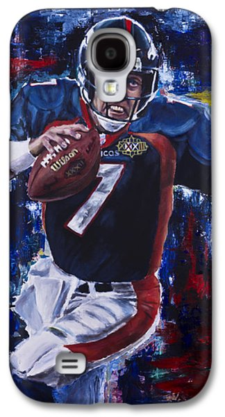 Hall Of Fame Galaxy S4 Cases - John Elway Galaxy S4 Case by Mark Courage
