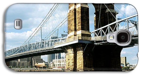 John A. Roebling Suspension Bridge Galaxy S4 Case by Panoramic Images