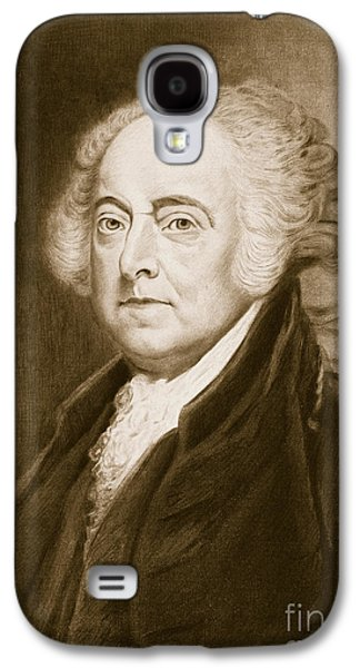 President Of Usa Galaxy S4 Cases - John Adams Galaxy S4 Case by George Healy