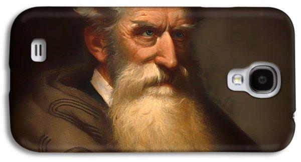 Anti-slavery Galaxy S4 Cases - John Brown Galaxy S4 Case by Peter Balling