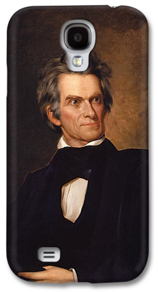Politics Paintings Galaxy S4 Cases - John C Calhoun  Galaxy S4 Case by War Is Hell Store