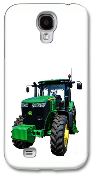 Series Photographs Galaxy S4 Cases - John Deere 7215R Galaxy S4 Case by Olivier Le Queinec