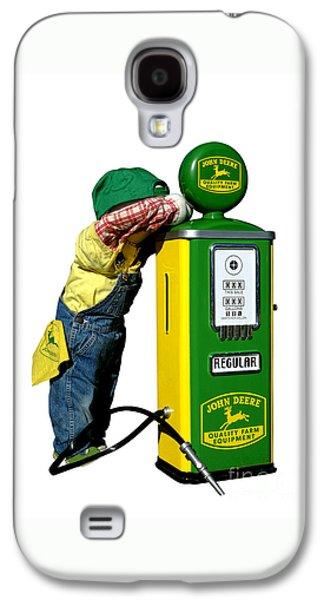 John Deere Kid Galaxy S4 Case by Olivier Le Queinec