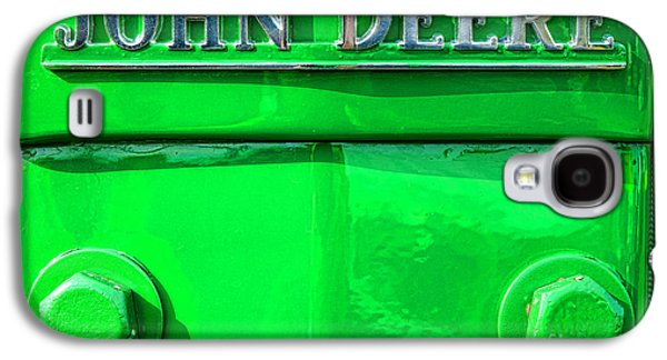 Machinery Galaxy S4 Cases - John Deere  Galaxy S4 Case by Olivier Le Queinec