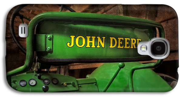 Enterprise Galaxy S4 Cases - John Deere Tractor Galaxy S4 Case by Susan Candelario