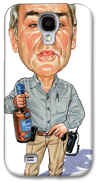 Best Sellers -  - Person Galaxy S4 Cases - John Dunsworth as Jim Lahey Galaxy S4 Case by Art