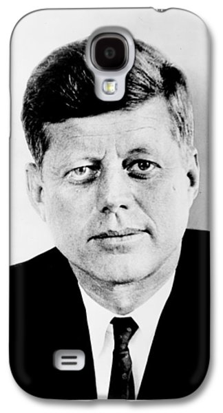 Camelot Galaxy S4 Cases - John F. Kennedy Galaxy S4 Case by Benjamin Yeager