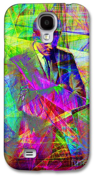 Wing Chee Tong Galaxy S4 Cases - John Fitzgerald Kennedy JFK In Abstract 20130610 Galaxy S4 Case by Wingsdomain Art and Photography