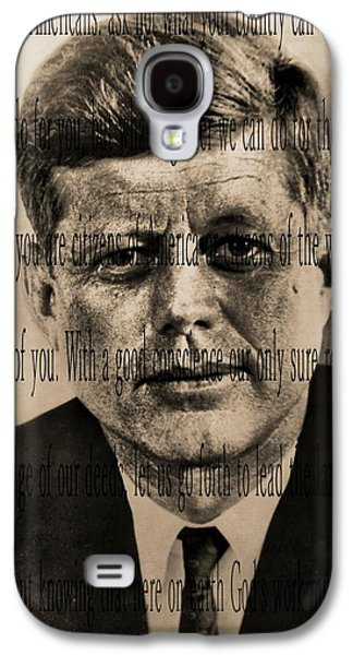 Inauguration Galaxy S4 Cases - John Kennedy Galaxy S4 Case by Dan Sproul