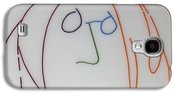 Beatles Galaxy S4 Cases - John Lennon Imagine by Peter Virgancz Galaxy S4 Case by Peter Virgancz