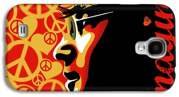 Beatles Galaxy S4 Cases - John Lennon Imagine Galaxy S4 Case by Sassan Filsoof