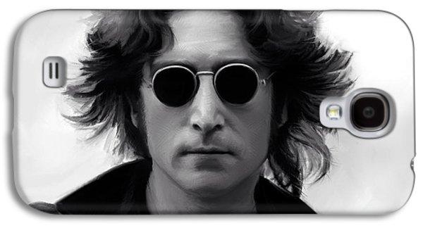 John Lennon Galaxy S4 Case by Paul Tagliamonte