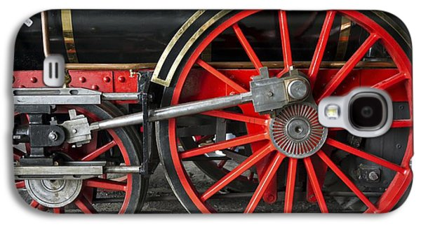 Old Montreal Galaxy S4 Cases - John Molson Steam Train Locomotive Galaxy S4 Case by Edward Fielding