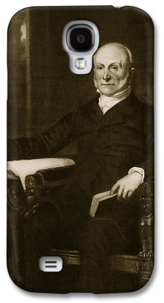John Quincy Adams Galaxy S4 Case by George Healy