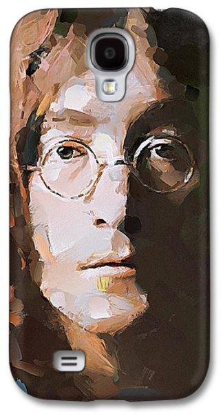 Beatles Galaxy S4 Cases - John the Beatles Galaxy S4 Case by Yury Malkov