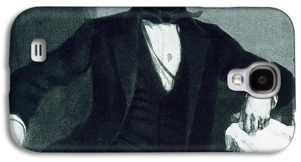 Politics Paintings Galaxy S4 Cases - John Tyler Galaxy S4 Case by George Healy