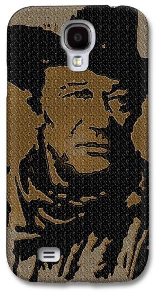 John Wayne Drawings Galaxy S4 Cases - John Wayne Lives Galaxy S4 Case by Robert Margetts