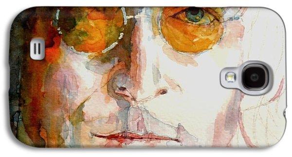 John Lennon Paintings Galaxy S4 Cases - John Winston Lennon Galaxy S4 Case by Paul Lovering