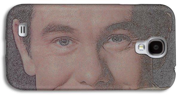 Johnny Carson Galaxy S4 Case by Douglas Settle