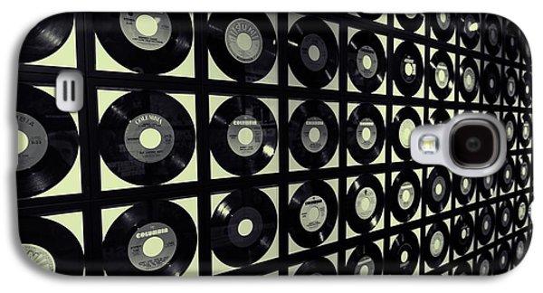 Johnny Cash Vinyl Records Galaxy S4 Case by Dan Sproul