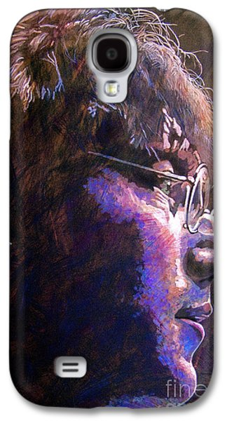 John Lennon Paintings Galaxy S4 Cases - Johnny We Miss You Galaxy S4 Case by David Lloyd Glover