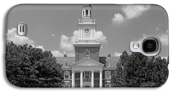 Collegiate Galaxy S4 Cases - Johns Hopkins Gilman Hall Galaxy S4 Case by University Icons