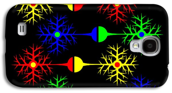 Asbjorn Lonvig Digital Art Galaxy S4 Cases - Joined Thinking Galaxy S4 Case by Asbjorn Lonvig