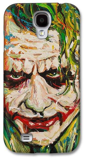 Joker Galaxy S4 Case by Michael Wardle