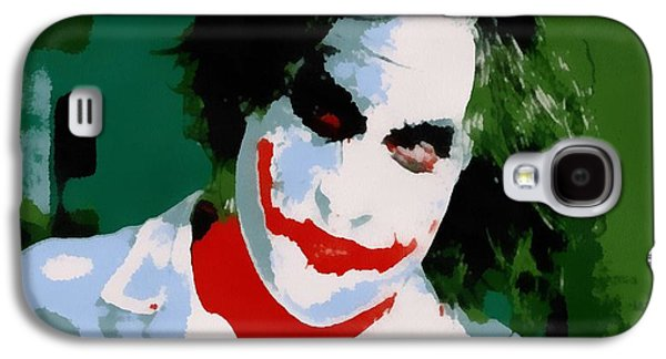Fictional Galaxy S4 Cases - Joker Pop Art Galaxy S4 Case by Dan Sproul