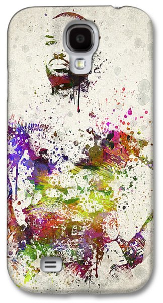 Athlete Digital Galaxy S4 Cases - Jon Jones Galaxy S4 Case by Aged Pixel