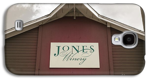 Jones Winery Barn Galaxy S4 Case by John Turek