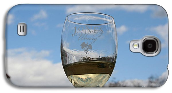 Jones Winery Glass.01 Galaxy S4 Case by John Turek