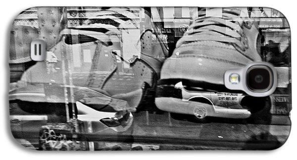 Sneakers Mixed Media Galaxy S4 Cases - Jordan Fantasy Galaxy S4 Case by Genna Steele