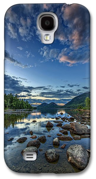 Maine Mountains Galaxy S4 Cases - Jordan Pond Galaxy S4 Case by Rick Berk