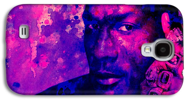 Mj Digital Galaxy S4 Cases - Jordan Six Rings Galaxy S4 Case by Brian Reaves