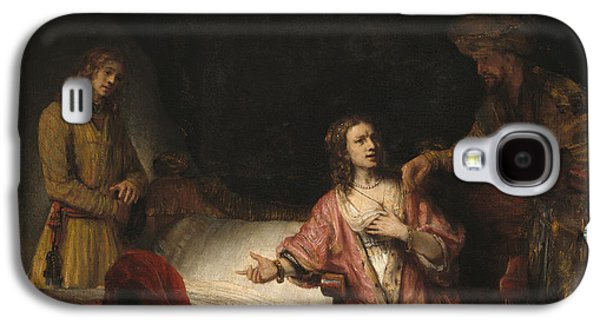 Joseph Accused By Potiphar's Wife Galaxy S4 Case by Rembrandt
