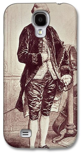 Full-length Portrait Galaxy S4 Cases - Joseph Hadyn 1732-1809 1858 Engraving Galaxy S4 Case by Edouard Jean Conrad Hamman