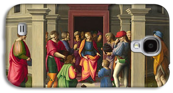 Receive Paintings Galaxy S4 Cases - Joseph receives his Brothers Galaxy S4 Case by Bacchiacca