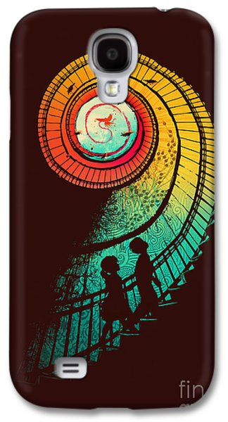 Staircase Galaxy S4 Cases - Journey of a thousand miles Galaxy S4 Case by Budi Satria Kwan
