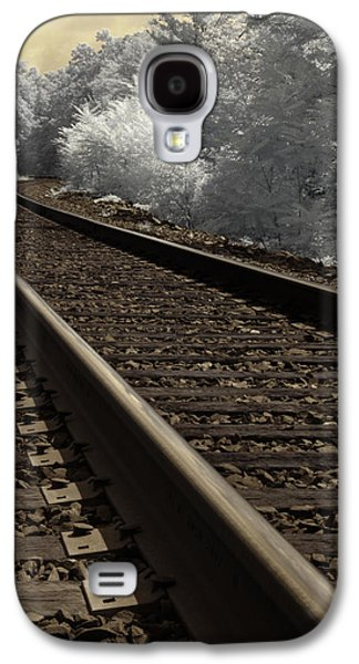 Journey On The Tracks Galaxy S4 Case by Luke Moore