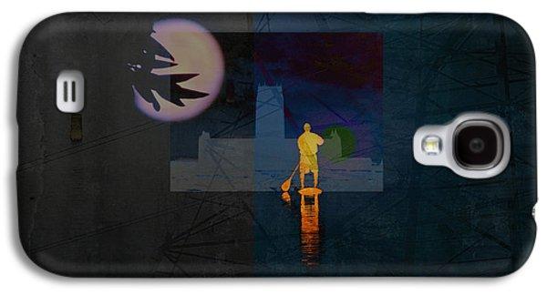 Inner Self Digital Art Galaxy S4 Cases - Journey Through Muddy Waters Galaxy S4 Case by Robert Ball