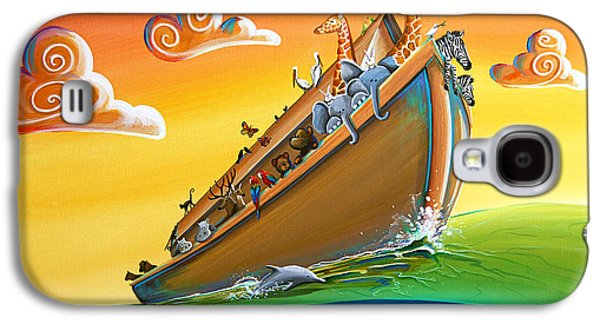 Noah's Ark - Journey To New Beginnings Galaxy S4 Case by Cindy Thornton