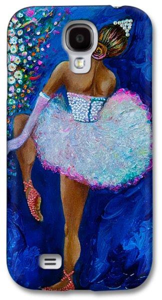 Dance Ballet Roses Galaxy S4 Cases - Joy #2 Galaxy S4 Case by Gulgun Turker Fingerhut