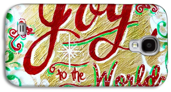 Religious Galaxy S4 Cases - Joy to the World Galaxy S4 Case by Jan Marvin