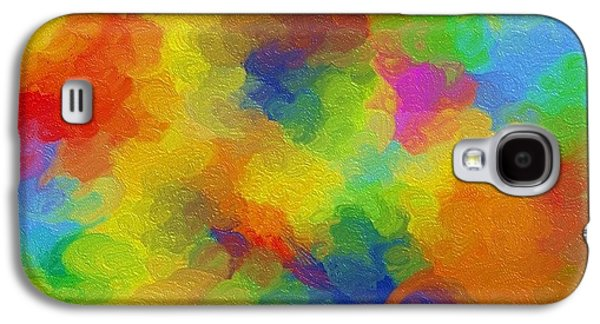 Abstract Digital Digital Art Galaxy S4 Cases - Joyful palette Galaxy S4 Case by Abstract Digital