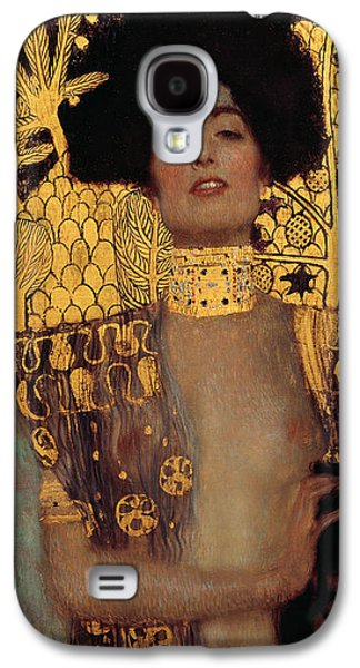 Woman In A Dress Galaxy S4 Cases - Judith Galaxy S4 Case by Gustive Klimt