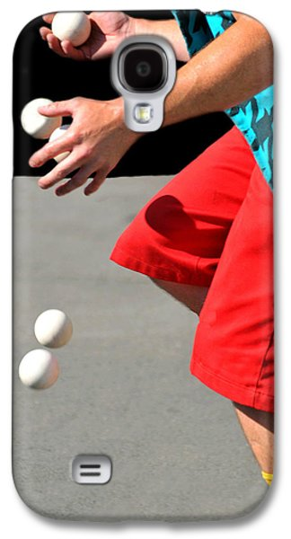Juggling Galaxy S4 Cases - Juggler Galaxy S4 Case by Diana Angstadt