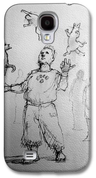 Juggler Galaxy S4 Case by H James Hoff
